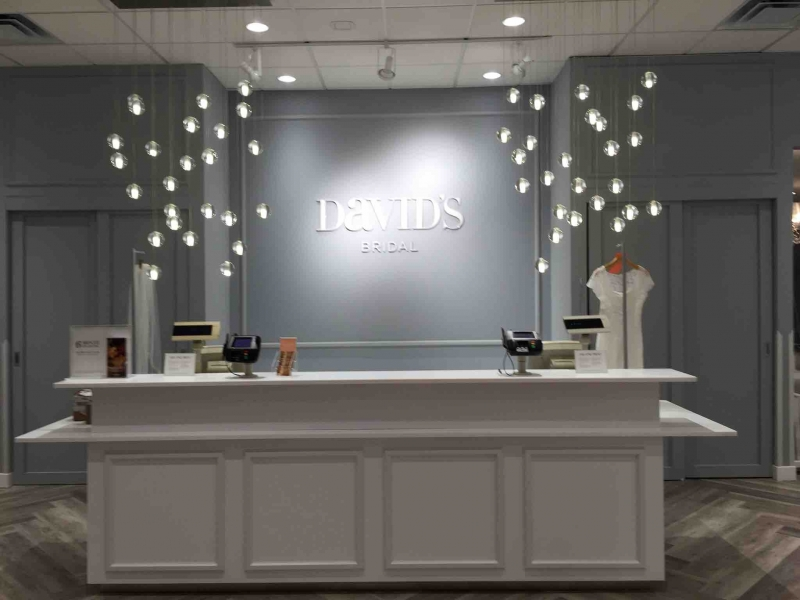Complete renovation of an 11,000 square foot David's Bridal
