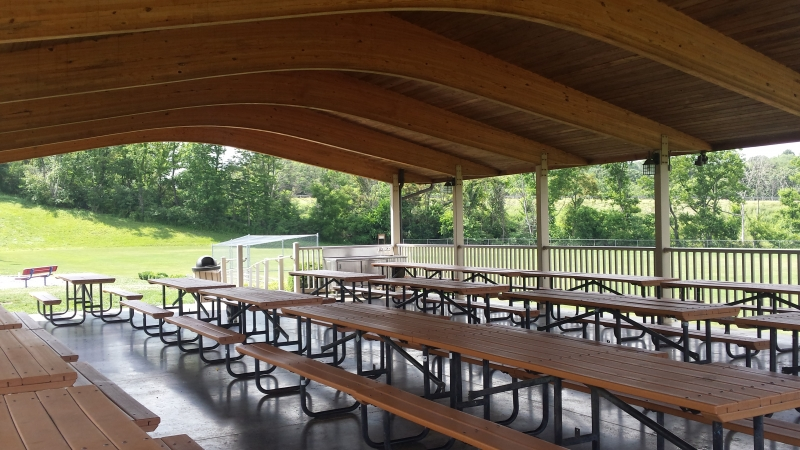 Maple Grove Pavilion - Blueberry Hill Park 1