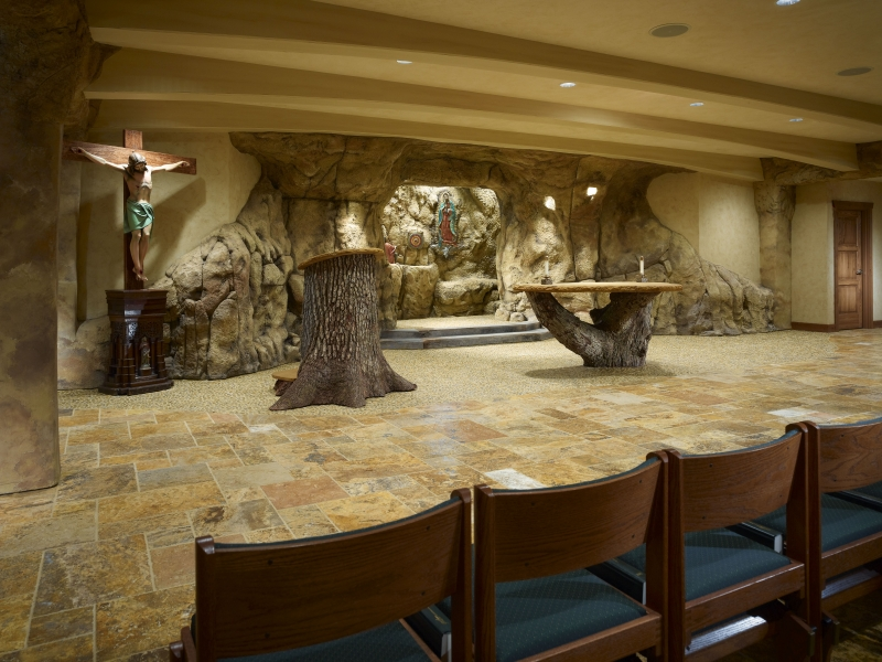 Sts. John and Paul Grotto Chapel