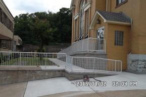 St. Nicholas Catholic Church Accessible Entrance